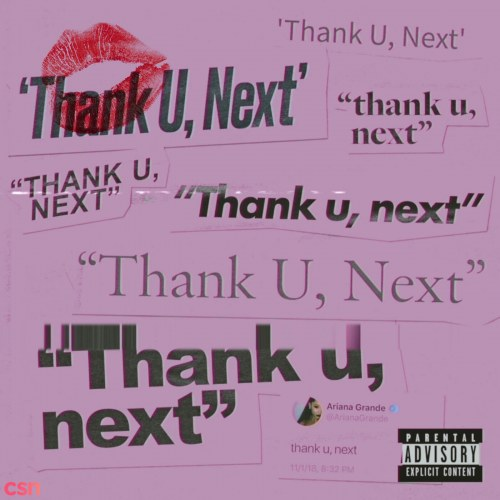 thank u, next (Demo) - Single