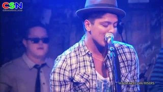 Nothing On You (Live) - Bruno Mars