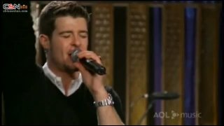 Oh Shooter (AOL Sessions) - Lil Wayne; Robin Thicke
