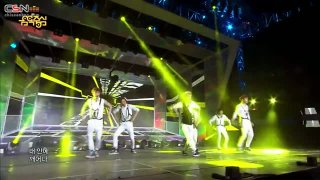 Growl (Music Core 130817) - EXO