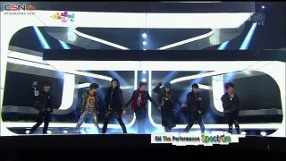 Dance @ SBS Gayo Daejun 2012 - S.M. The Perpomence