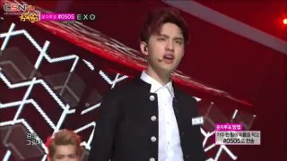 Growl (Music Core 130824) - EXO
