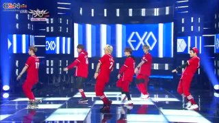 Growl (Music bank - Goodbye Stage - 130906) - EXO
