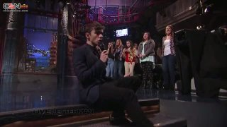 Lightning (Live On Letterman) - The Wanted