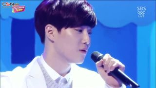 Magic Castle (Inkigayo 140216) - Suho; Baekhyun; EXO