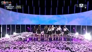 Wait A Minute (M! Countdown Comeback Stage 140306) - Girls' Generation