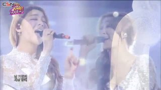 Let It Go (Celebration 400th Show Music Core 140308) - Ailee; Hyorin