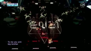 Crush (Inkigayo - Comeback Stage - 140309) - 2NE1