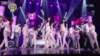 Mr.Mr. (Inkigayo 140316) - Girls' Generation