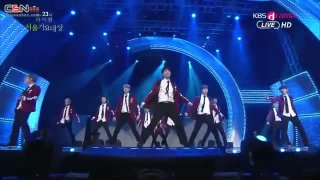 Let Out The Beast; Wolf; Growl (Seoul Music Awards 2013) - EXO