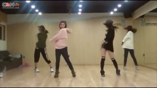 I Don't Need A Man (Mirrored Dance Practice) - Miss A