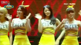 Short Hair (Show Champion 140806) - AOA