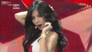 Red (Music Bank 140801) - HyunA