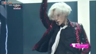 Ace; Danger (Music Bank 140815) - Taemin