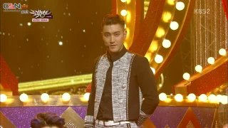 Shirt; Mamacita (Music Bank Comeback Stage - 140829) - Super Junior