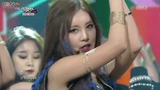 Sugar Free (Music Bank - Comeback Stage - 140912) - T-Ara