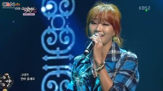 Lonely; One Way Love  (Music Bank Comeback Stage 131129) - Hyorin