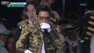 Hands Up; Bad Boy; Fantastic Baby (Incheon Asian Games Closing Ceremony 141004) - Bigbang