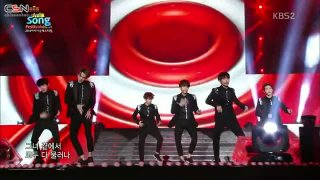 Overdose; Growl; Lucky (Asia Song Festival 141107) - EXO-K
