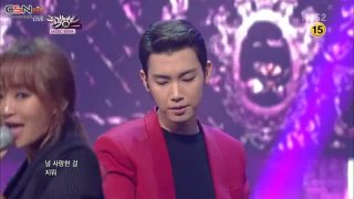 All Of You; Erase (Music Bank Comeback Stage 141121) - Hyolyn; Jooyoung; Iron