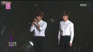 Baby Don't Cry; Moonlight; Growl (Korean Music Wave In Beijing 141207) - EXO