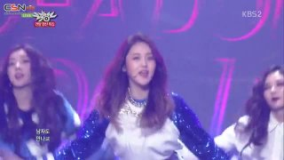 Whatcha Doin' Today (Music Bank Year-End Special 141219) - 4Minute