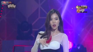 Touch My Body; Red; Something; Eyes Nose Lips (KBS Entertainment Awards 2014 141227) - HyunA; KBS Artists