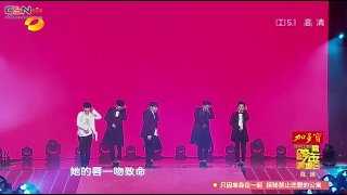 Growl; I'm Coming; Overdose; Lucky (Hunan TV New Year Countdown Concert 141231) - EXO; Lay