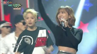 Shake That Brass (Music Bank 150227) - Amber; Luna