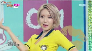 Chocolate; Heart Attack (Music Core Comeback Stage 150626) - AOA