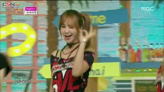 Catch Me If You Can; Party (Music Core Comeback Stage 150711) - Girls' Generation