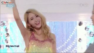 Check; Party (Inkigayo Comeback Stage 150712) - Girls' Generation