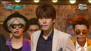 Don't Wake Me Up; Devil (M Countdown Comeback Stage 150716) - Super Junior