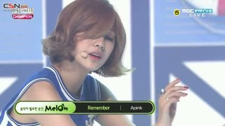 A Wonderful Love; Remember (Show Champion Comeback Stage 150722) - A Pink