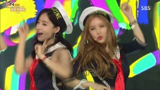 So Crazy (Inkigayo Comeback Stage 150809) - T-Ara