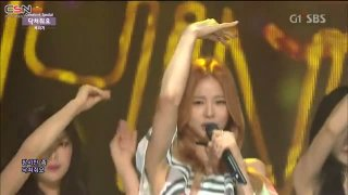 Shut Up (Inkigayo Comeback Stage 150809) - Baechigi; Solji