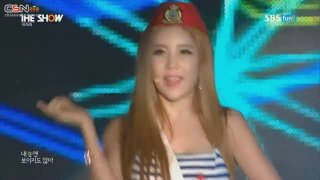 So Crazy (The Show Comeback Stage 150811) - T-Ara