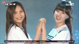 Me Gustas Tu (The Show Summer K-pop Festival 150811) - GFriend