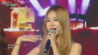 Shut Up (Music Bank 150814) - Baechigi; Solji