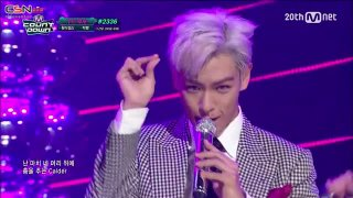 Zutter (M Countdown No.1 Stage 150820) - G-Dragon; T.O.P