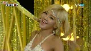Lion Heart (The Show Comeback Stage 150825) - Girls' Generation