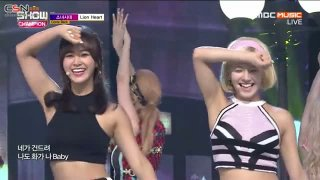Lion Heart (Show Champion Comeback Stage 150826) - Girls' Generation