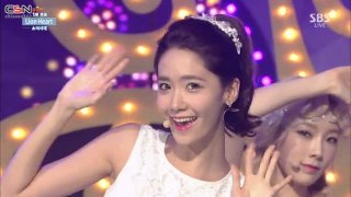 Lion Heart (Inkigayo 150830) - Girls' Generation