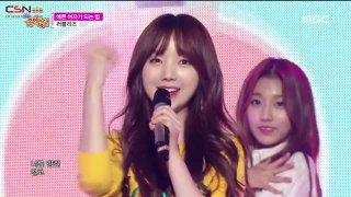 How To Be A Pretty Girl; Ah-Choo (Music Core Comeback Stage 151003) - Lovelyz