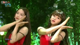 Closer (Inkigayo Comeback Stage 151018) - Oh My Girl