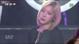 Sleepless Night (The Show Comeback Stage 151124) - Nine Muses