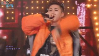 Anthem; Apology (Inkigayo Comeback Stage 151129) - iKON
