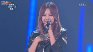 I'll Give You All My Love (2015 KBS Gayo Daechukje Live) - Solji; ChoA; Solar