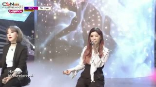 No Love (Show Champion Comeback Stage Live) - 4Minute
