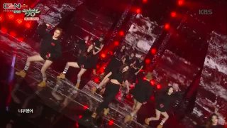 Hate; Crazy (Music Bank Live) - 4Minute